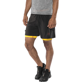 La Sportiva Rapid Shorts Herren black/yellow